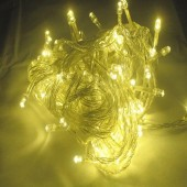 10M 100 LEDs Warm White Christmas Wedding String LED Fairy Lights