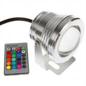 10W 12V 24V RGB LED Underwater Light Fountain Pool Aquarium Fish Tank Waterproof Lamp