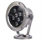9W LED Underwater Light IP68 Waterproof 12V/24V Swimming Pool Fountain Aquarium Fish Tank Pond Lamp