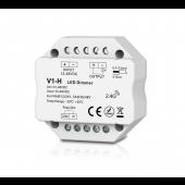 Skydance V1-H Led Controller 1CH*3A/6A 12-48VDC CV Dimming Controller Push Dim