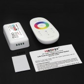 Mi.Light FUT025 12-24V 2.4G Wireless Touch Screen Led RGB Controller 18A RF Remote Control