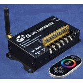 2.4G RGB RF LED Controller with Touch Remote RF201 2.4Ghz