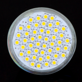 GU10 48 LEDs 3528 SMD LED Bulb Spot Light Lamp Spotlight 4pcs
