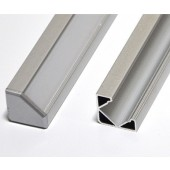 """39"""" Aluminum L Tracking Extrusion Extruded Mounting Channel 24pcs"""