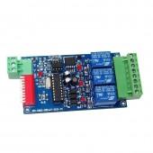 3CH/4CH/6CH/8CH/12CH/16CH Relay switch dmx controller DMX512 control