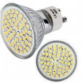 3W GU10 SMD LED Bulb 60 LEDs 3528 Spotlight Spot Lamp 4pcs