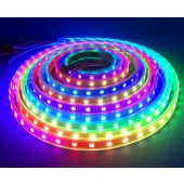 DC 5V RGB SK6812 LED Pixel Strip Addressable 5M 300LEDs 60LED/M Digital Light