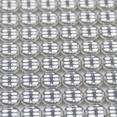 5050 SK6812 RGB LED Chips Individually Addressable Prewired Heatsink 5V 100Pcs