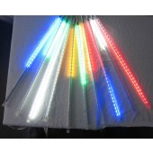 50CM 10 Tubes 5050 RGB LED Meteor Light Rain Snowfall Ourdoor Tree Lighting