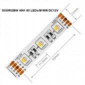 5m 5050 RGBW 4pin RGB Led Strip 5pin 4in1 RGBWW RGBCW Light Waterproof