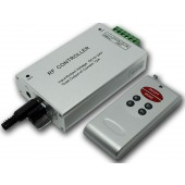 6 Keys Remote RF Wireless Audio Music RGB LED Controller