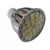 6W GU10 Bulb 24LEDs 5050 LED Spot Light SMD5050 Quartz Lightbulb