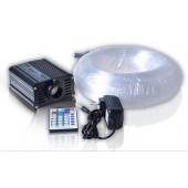 0.75MM Fibers 16w Light Source Starry Sky Light DIY RGB Fiber Optic Star Ceiling Kit