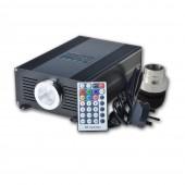 Fibra Optica End Glow Illuminator 45w Led Fiber Optic Light 7m 0.75mm 1100pcs DIY Kit