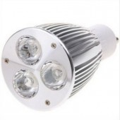 9W GU10 LED Spotlight 3LEDs LED Spot Lamp Bulb Light