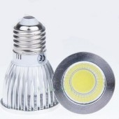 9W New COB E27 Led Bulb High Power Spotlights Lamp Dimmable Light 5pcs