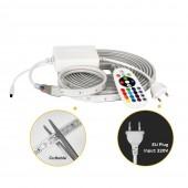 AC 220V LED Strip 5050 RGB High Brightness Flexible Light