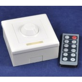Wall Mounted 12-Key RF Remote Control LED Dimmer