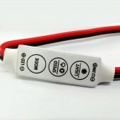 DC 12V 24V 12A Single Color LED Dimmer Switch R102 Controller 10pcs