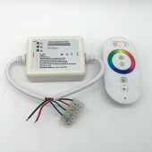 DC 12V 24V Touch Reel 216W RGB RF Remote Dimmer Controller