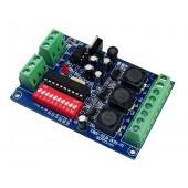DMX 3CH RGB 350ma High-power drive DMX512 decoder WS-DMX-HLB-3CH-350MA