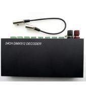 24CH DMX Dimmer Controller DMX512 24 Channels Decoder