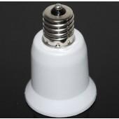 E17 to E27 Led Lamp Base Adapter Light Bulb Socket Converter 10pcs