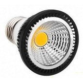 E27 5W LED Bulb Light Dimmable COB Spotlight Lamp Lightbulb