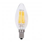 Edison Bulb Filament E14 220V 6W C35 LED Glass Candle Lamps Light