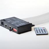 200 Stars 3m Falling Remote Control Projector Fiber Optic Meteor Shooting Star Light Kit