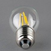 G45 Glass LED Filament Bulb Light Edison Vintage Spotlight 2W 4W Lamp 5pcs