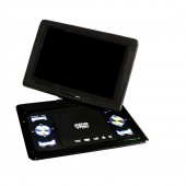 13.9 Inch Swivel DVD Player USB Portable TV Portatil WIth Battery