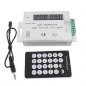 LED Light Sensor and Time Control Dimmer Timing Controller