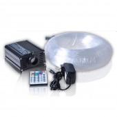 16w RGB Led Illuminator + 200pcs 0.75mm 2m Fibers For Car Top Roof Lighting Decoration