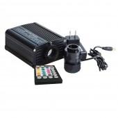 16W RGBW LED fiber optic light engine RF remote APP bluetooth touch wall control