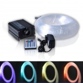 Fancy Fibre Optic Lighting Grow Lights With RF Remote Control 12V DC 16W Light Source For Pool Star Ceiling Decoration