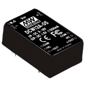Mean Well DCW12 12W DC-DC Regulated Dual Output Converter Power Supply