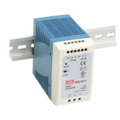 Mean Well MDR-100 96W Single Output Industrial DIN Rail Power Supply