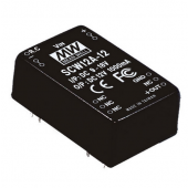Mean Well SCW12 12W DC-DC Regulated Converter Power Supply