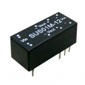 Mean Well SUS01 1W DC-DC Unregulated Converter Power Supply