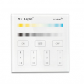 Mi.Light B2 4-Zone CCT Adjustable Touch Panel Wall LED Controller