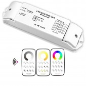 Bincolor Led Controller Dimming Multi Zone Control Wireless Remote With Receiver