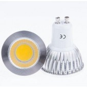 New COB GU10 6W Led Spotlights Lamp 120 Angle Led Bulb Dimmable Light