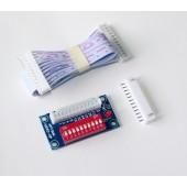 DMX controller DMX-Relays for led strip ADDR2-DIP-Z