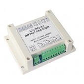 AC110-220V 3 Channel Relay DMX512 Decoder Controller DMX-RELAY-3CH-220