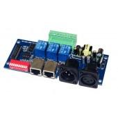 AC110v-220V 3CH DMX512 3P Relay Switch controller Decoder WS-DMX-RELAY-3CH-KA-BAN