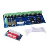 27CH DMX Decoder Controller RJ45 DIPC WS-DMX-27CH-RJ45-DIPC