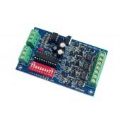 4CH 350ma DMX512 Decoder LED Controller Dimmer WS-DMX-CHL-4CH-HV-350MA