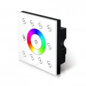 P8 Bincolor Led RGBW Dimmer Wall-mounted DMX512 Console Master Touch Panel Controller