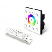 Bincolor Led P8X+R4-2.4G Wireless Multi-Zone RGBW Panel DMX512 4CH Controller